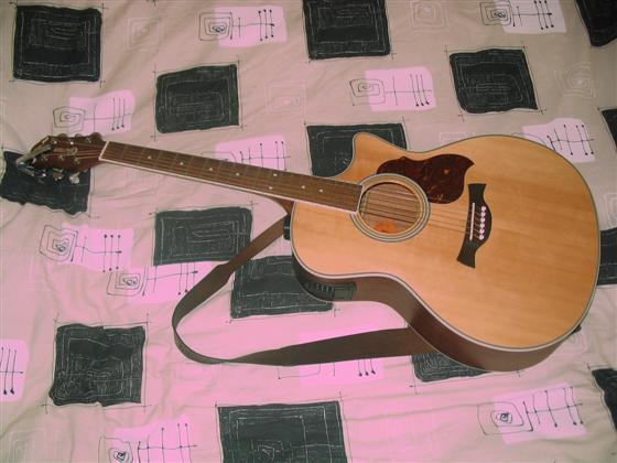 Nová kytara Crafter